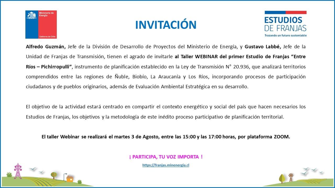 Invitacion Webinar